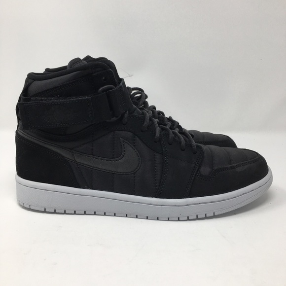 e275481d66b8 Air Jordan 1 High Strap Mens Black